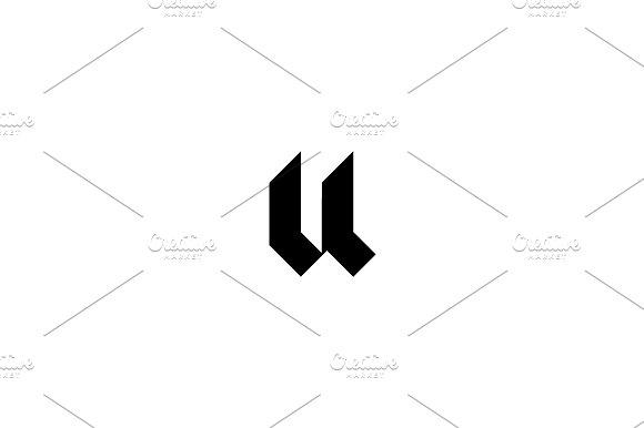 Urbanowicz Letter U Logo