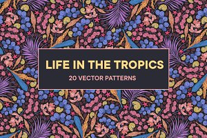 Life in the Tropics patterns