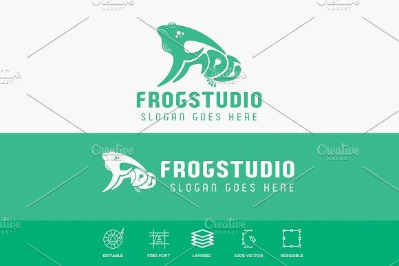 Frog Logotype Vector