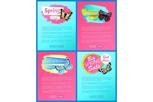 Super Spring Sale 70% Off Stickers on Web Posters