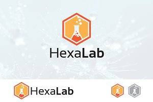 Bee Hexagon Lab Research Logo