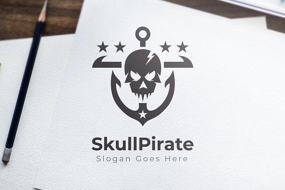 SkullPirate Logo