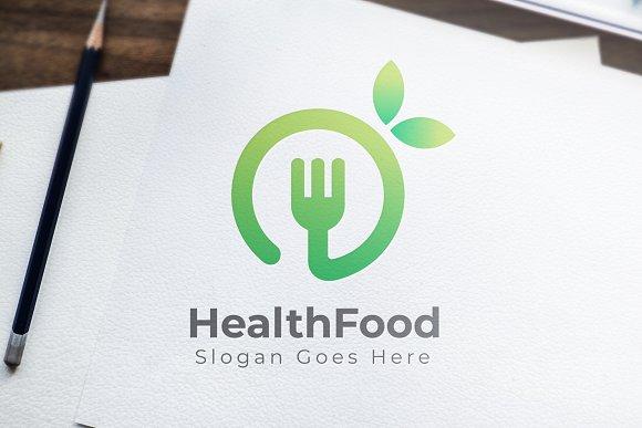 Health Food Logo