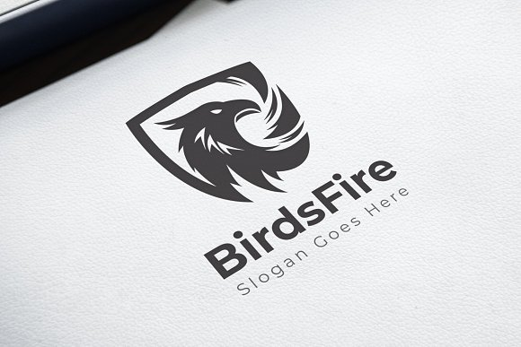 Bird / Eagle / Garuda / Phoniex in Logo Templates - product preview 2