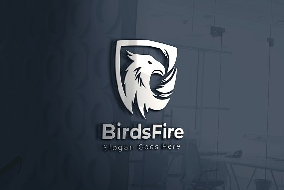Bird / Eagle / Garuda / Phoniex in Logo Templates - product preview 3