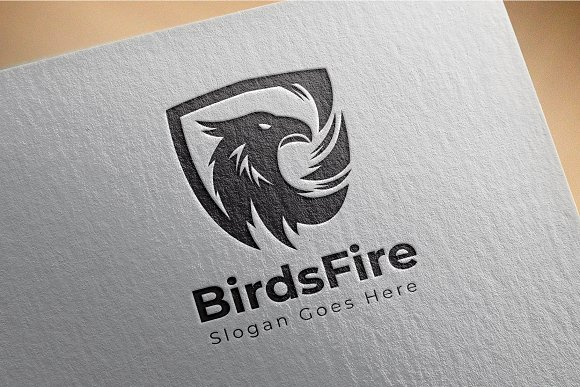 Bird / Eagle / Garuda / Phoniex in Logo Templates