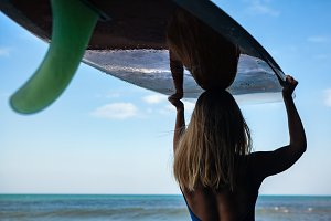 Surfer girl
