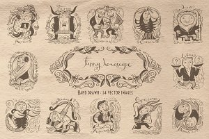 Fanny vintage horoscope