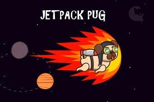 Jetpack Pug