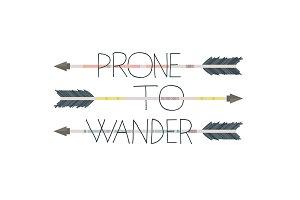 Prone to Wander Vector