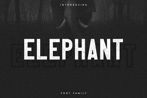 Elephant Font Family -50%