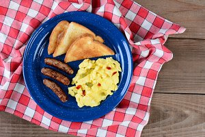 Country Style Scrambled Eggs