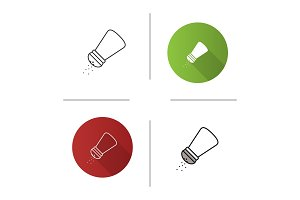Salt or pepper shaker icon