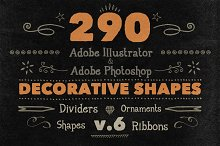 290 Handwritten Decorative Shapes 06