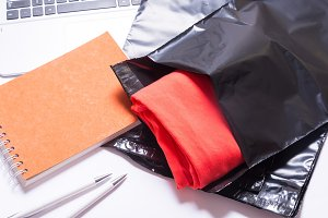 Postage mailing bags, envelopes