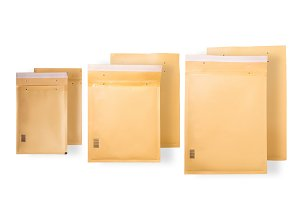 Postage mailing bags, envelopes