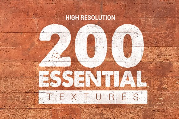 200 Essential Textures Bundle