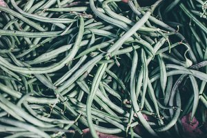 Green String Beans heap