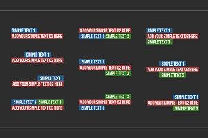 10 Kinetic Titles (.mogrt)