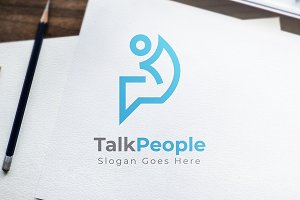 TalkPeople - Logo