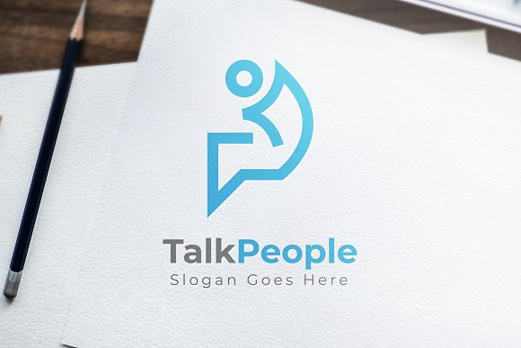 TalkPeople Logo