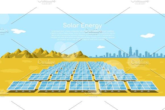 Solar Energy Concept Banner