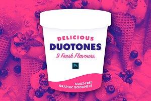 Delicious Duotones [9 Flavours PSD]