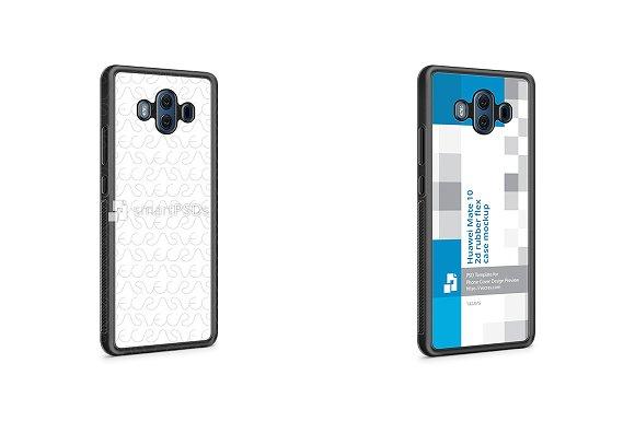 Huawei Mate 10 2d RubberFlex Case