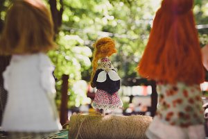 Angel Doll at Hand made Festival