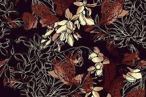 acacia seamless pattern | JPEG
