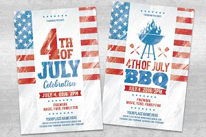 4th of July and BBQ Flyer