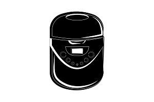 Multi cooker icon. Multivarka icon