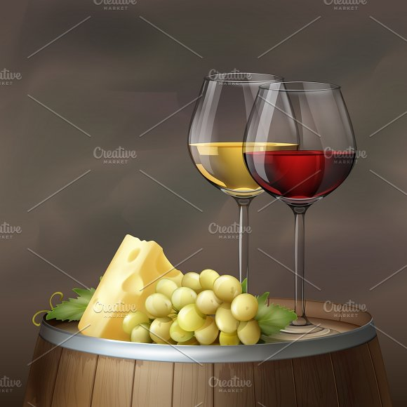 Two Glasses Of Wine