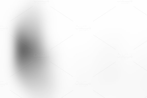 Abstract Gray Gradient Studio Background With Copy Space