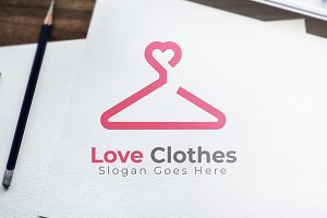 Love Clothes Logo