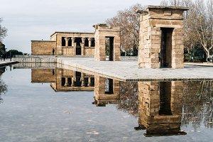Temple Of Debod Against Sky