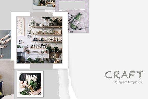 CRAFT Instagram Content Templates