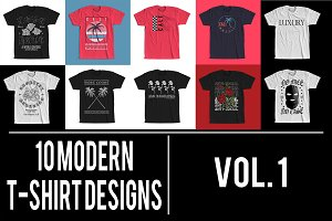 Modern T-Shirt Designs VOL. 1
