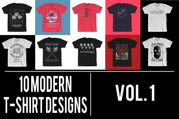 Modern T-Shirt Designs VOL 1