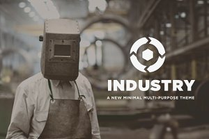 Industry - Adobe Muse Theme