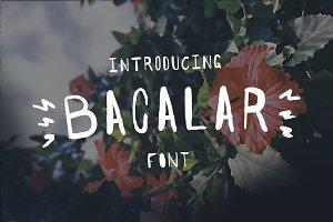 Bacalar Font