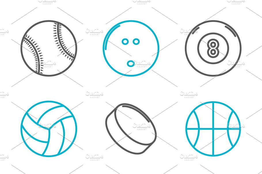 9 Sport Icons