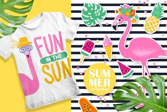 Fun Summer Illustrations