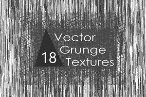 18 Vector Grunge Textures