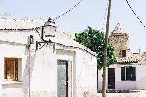 Mediterranean old village street