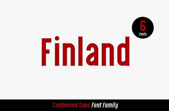 Finland Font Family