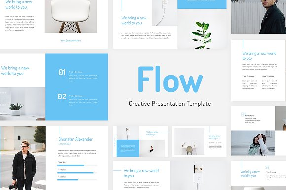 Flow Creative Google Slides