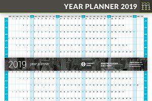 Year Planner 2019 (YP025-19)