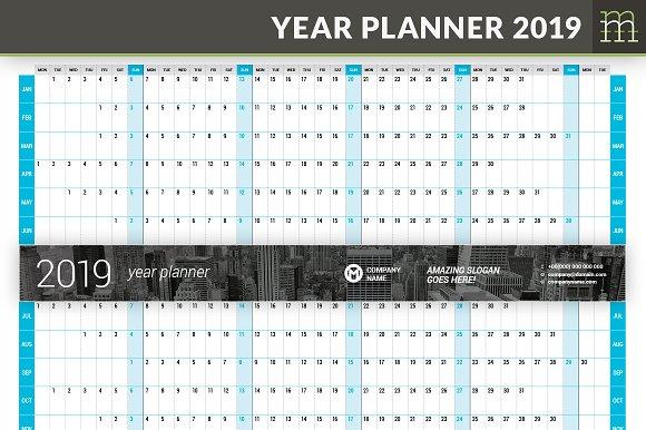 Year Planner 2019