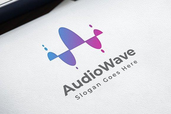 AudioWave Logo